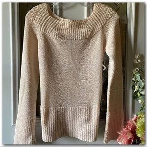 Off The Shoulder Sweater By Henne
